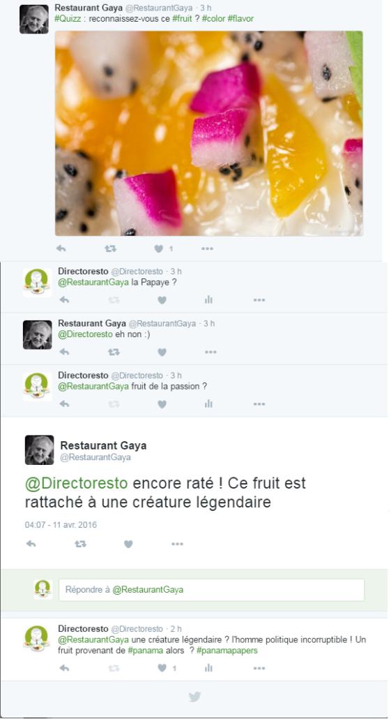 Pierre Gagnaire a un fruit secret