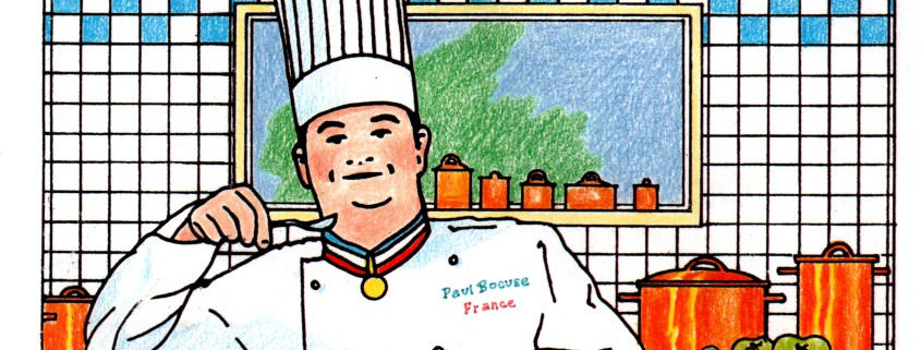 Coloriage Paul Bocuse